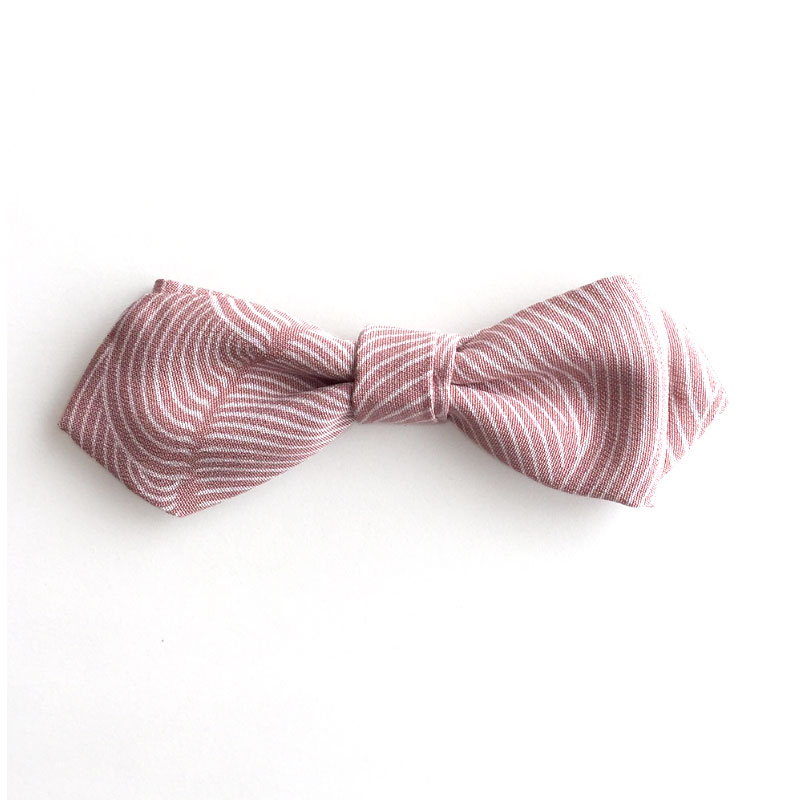 Wave Pattern bow tie