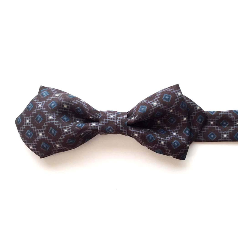 tsumugi silk bow tie