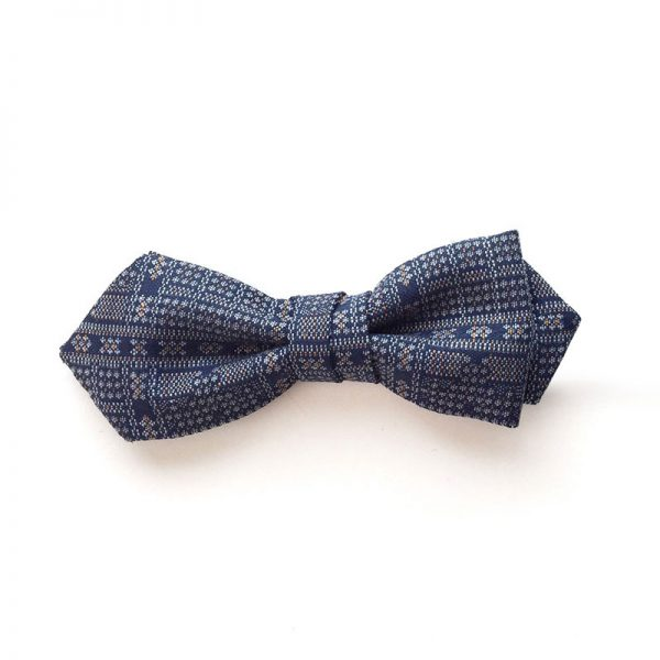 Koushi Pattern Bow Tie