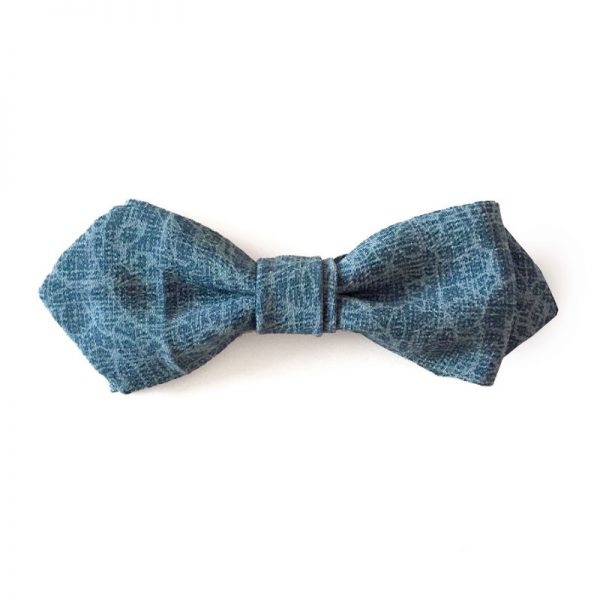 Tree branch pattern bow tie