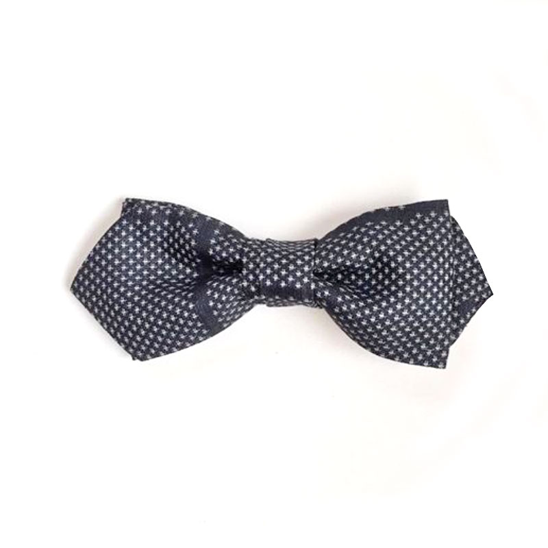 Tsumugi geometric abstract bow tie