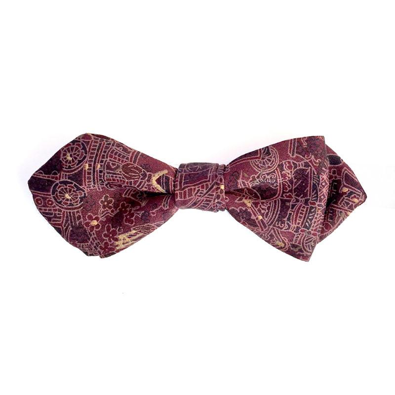 matsuri pattern bow tie