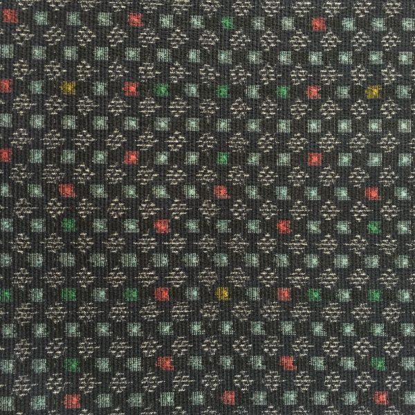 Vintage Japanese tsumugi silk