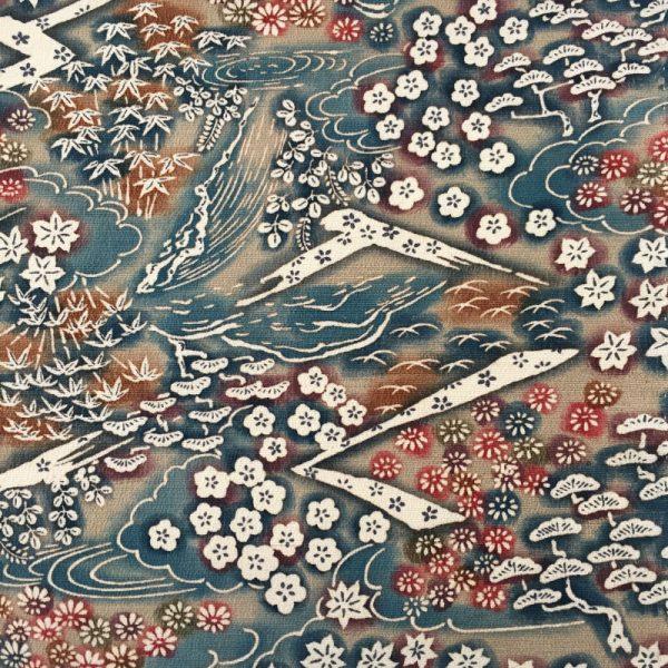 Chirimen vintage Japanese silk bow ties
