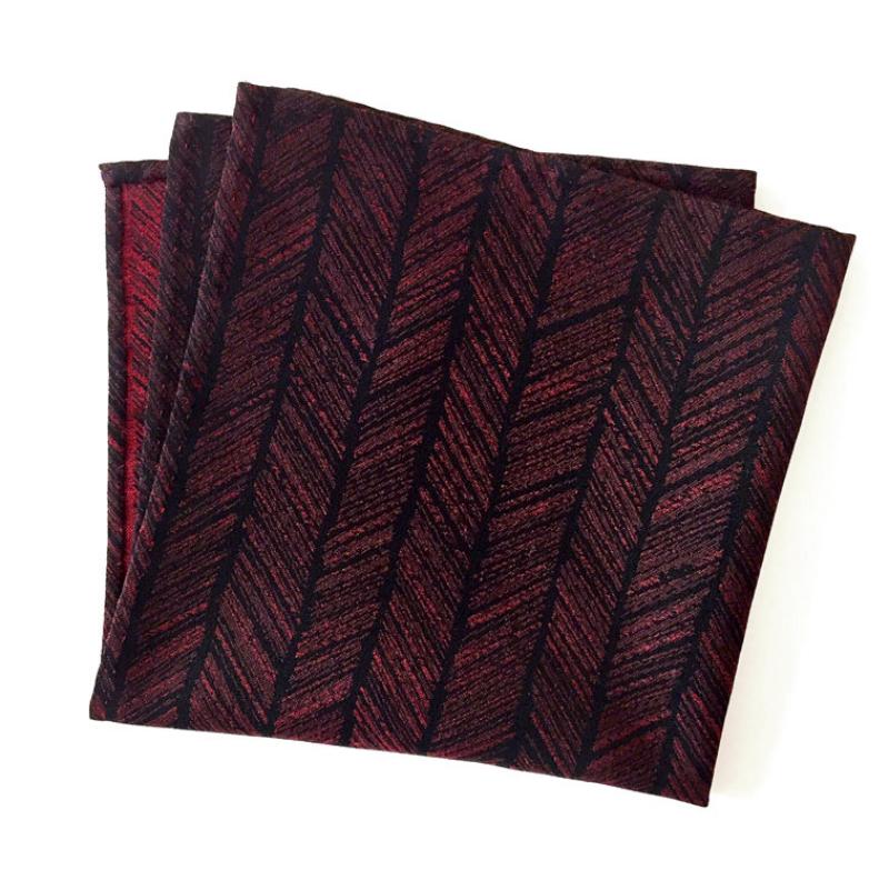 Yabane, Arrow Fletching Pattern pocket square