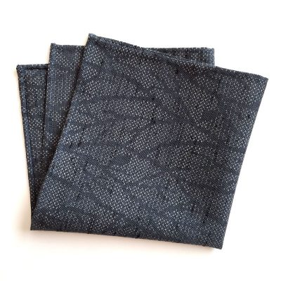 tree branch pattern pocket square