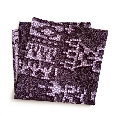 Unusual abstract pattern. pocket square