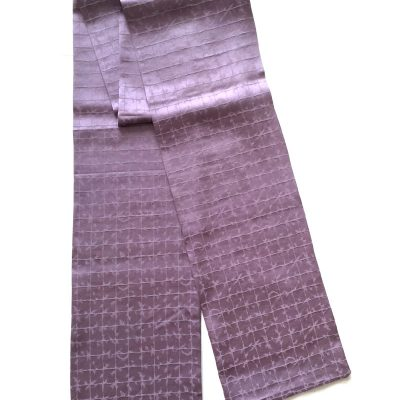 Barb wire pattern silk scarf