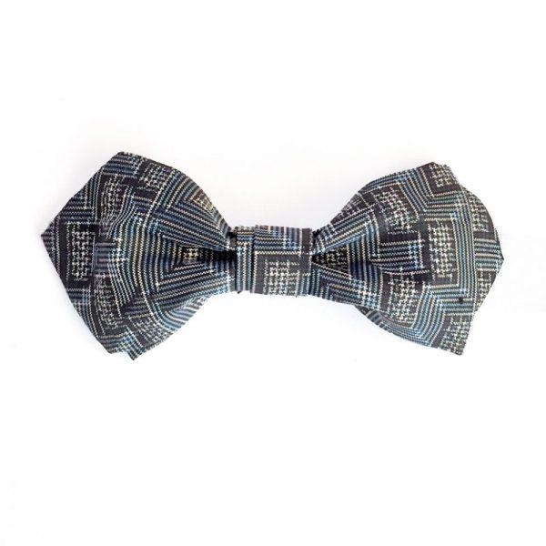Oshima Tsumugi Silk Bow Tie