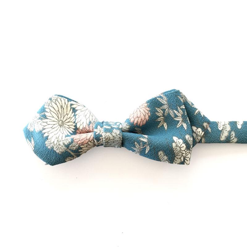 Japanese vintage silk bowtie
