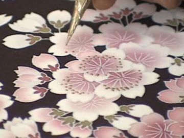 Kyo-Yuzen Silk Dyeing